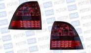 Светодиодные задние фонари ProSport Techno RS-09584 для Лада Приора, красный корпус