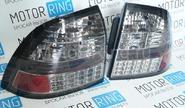 Задние диодные фонари Techno, тонированные для Лада Приора
