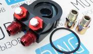 Адаптер для установки масляного радиатора 45 градусов