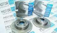 Комплект передних тормозных дисков для ВАЗ 2108-15, 2110-12
