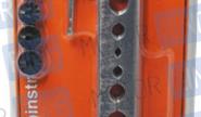 Набор для развальцовки тормозных трубок 9 предметов «АвтоDело» 40407