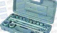 Набор шоферского инструмента № 2 (6-гр/гол, пласт.футляр) «Новосибирский инструмент» 25779