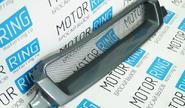 Декоративная решётка радиатора с круглой сеткой для ВАЗ 2113-15 в цвет автомобиля
