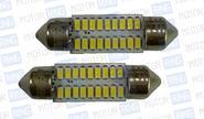 Светодиодные лампы SJ-3014-18SMD-39mm